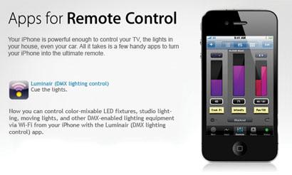 Apple's Website Features wysiwyg R25's Luminair App « PLSN