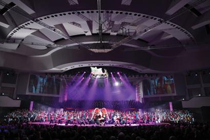 Prestonwood Christmas Show.Gemini Stage Lighting Provides Vari Lite Gear For