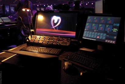 coolux Widget Designer used at ESC 2011