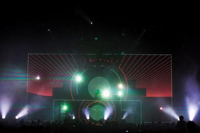 David Guetta tours U.K. with XL Video