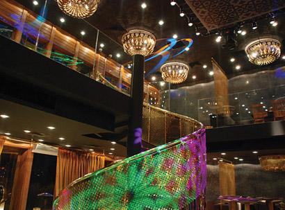 Coemar Lights Nomads Nightclub in Instanbul
