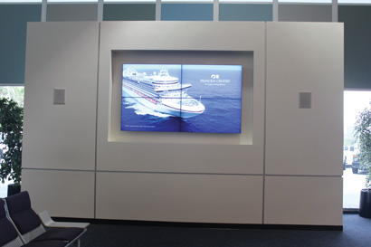 Electrosonic Designs and Installs New AV Systems for Berth 93 at the Port of Los Angeles World Cruise Center