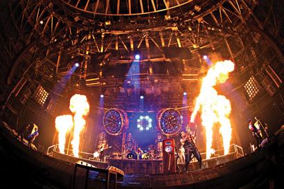 Rammstein on tour