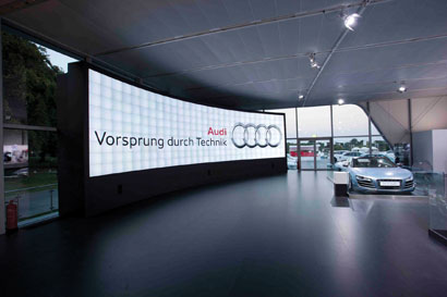 CPL videowall for Audi