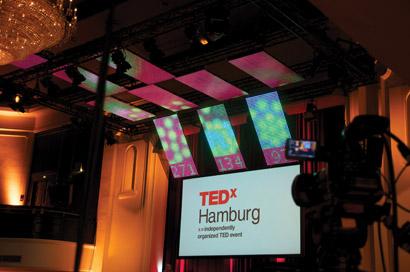 Tweet Bubbles at TEDxHamburg