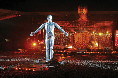 Take That tour with OM