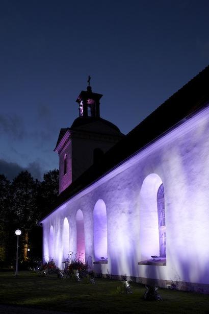 The church in Alingsas