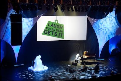 Laugh or the Polar Bear Gets It