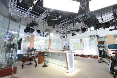 iTele Studios in France