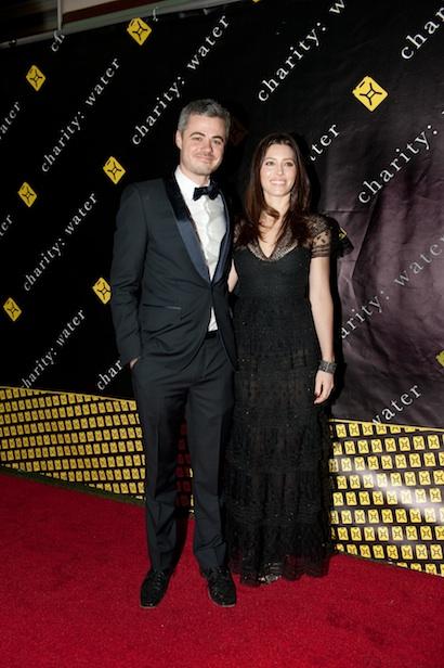 Scott Harrison and Jessica Biel