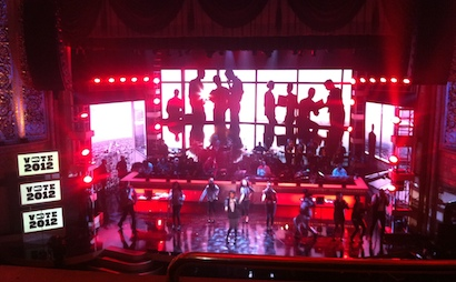 Jennifer Hudson rehearsals at the BET Honors