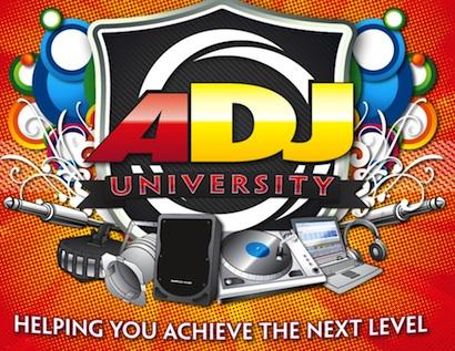 American DJ University logo