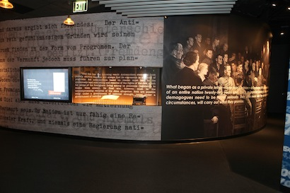 Museum of Tolerance exhibit