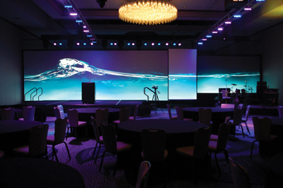 Swank Audio Visuals Annual National Leadership Meeting with Analog Way systems