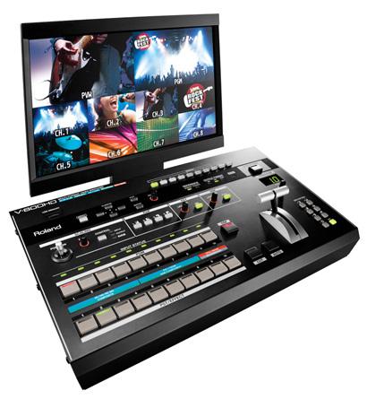 Roland's V-800HD Multi-Format Video Switcher
