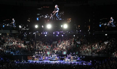 Bruce Springsteen's Wrecking Ball tour