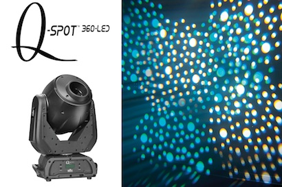 CHAUVET QSpot 360 LED