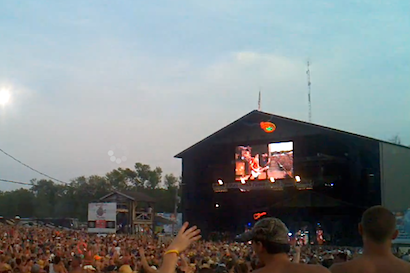 One of the five screens at Country Concert.