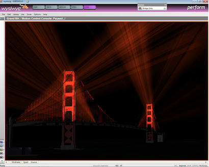 Golden Gate in pre-viz