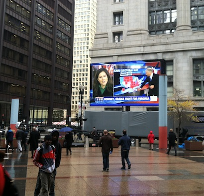 CNN election viewing in Chicago