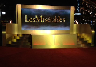 Les Miserables premiere