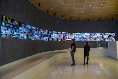 SFPUC Digital Arts Wall