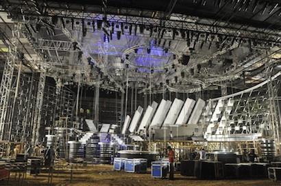 Milos roof system for A.R. Rahman