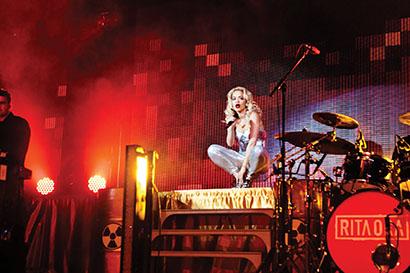 XL Video Provides LED Video Looks for Rita Ora U.K. Tour