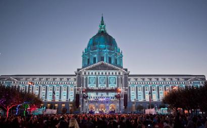 d3 on San Francisco City Hall