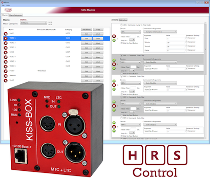 HRS Control UDC Timecode « PLSN