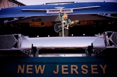 Bon Jovi's inflatable Buick