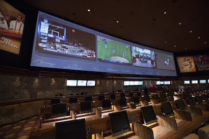 Race & Sports Book at Mirage Hotel & Casino in Las Vegas