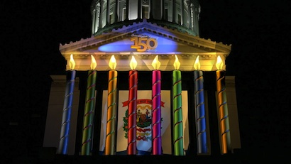 Monster Media 3D Lights West Virginiau0027s Capitol & Projection Connection News « PLSN