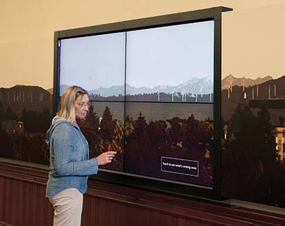 ABS Installs Touchscreen Video Wall at Central Washington University