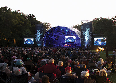 AV Systems' new digiLED MC10 video modules from international screen provider displayLED will support events including concerts sponsored by concert for Rand Merchant Bank (RMB)