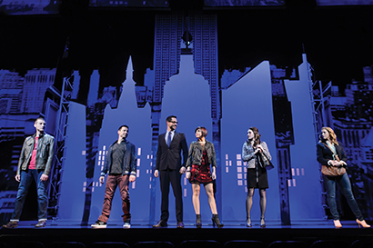 Musical theatre dating site