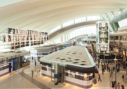 Integrated Environmental Media System (IEMS) is relying upon Vista Systems' Spyder image processors for five of the seven media features now greeting travelers going through the new Tom Bradley International Terminal at Los Angeles Airport (LAX).