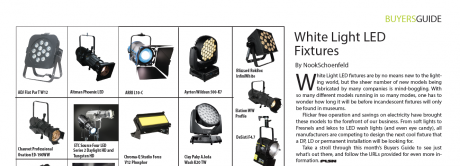 White Light LED Fixtures, PLSN Buyers Guide, April 2015