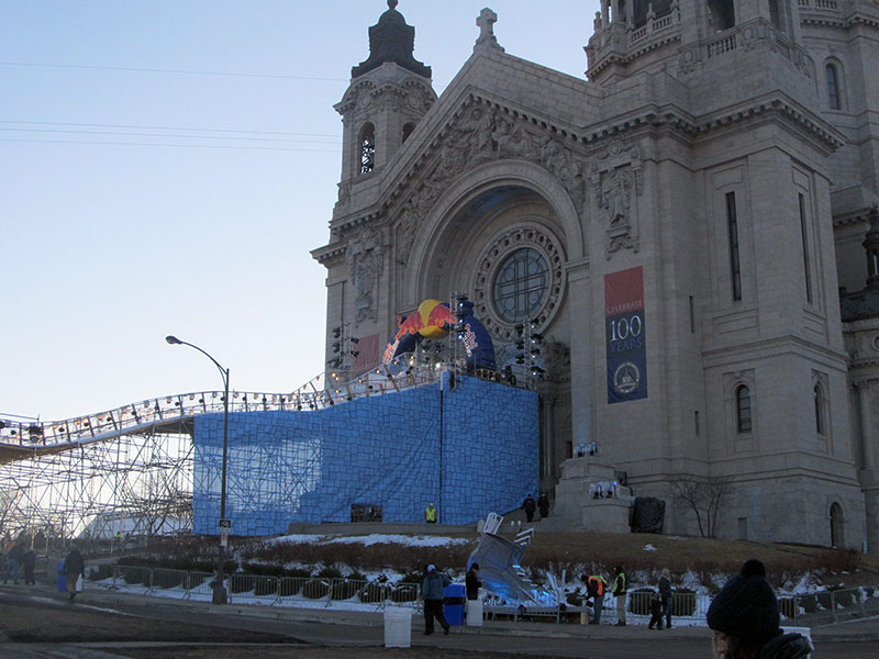 st paul red bull crashed ice lit with martin mac quantum wash