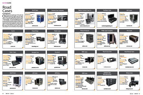 PLSN May 2015 Buyers Guide - Road Cases