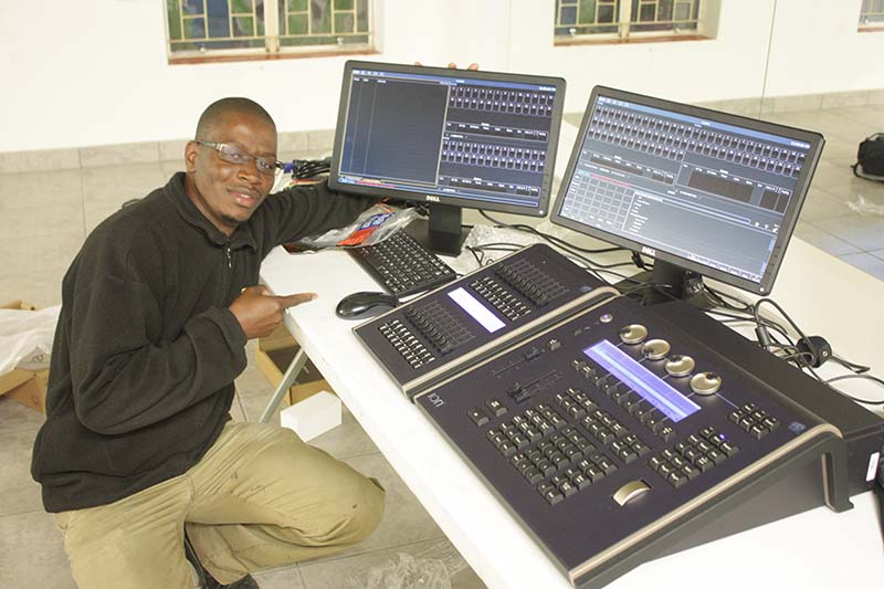 National Theatre of Namibia Upgrades with ETC Ion Console « PLSN