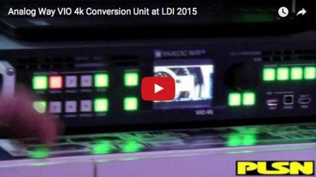 Video of the Week: Analog Way V10 4K Unit