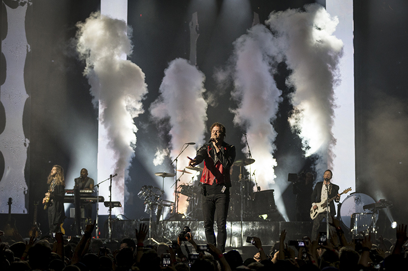 Smoke + Mirrors Live, which premiered March 2, captured all angles of Imagine Dragons' Toronto concert last July. Photo by Fathom Events