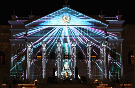 DWP Live and Barco produced the spectacle during CinemaCon 2016