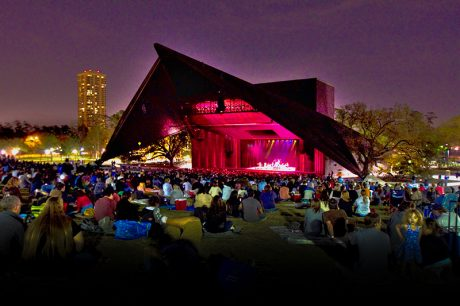 Beck Studios and J.R. Clancy teamed up on a rigging upgrade for Miller Outdoor Theatre in Houston, TX