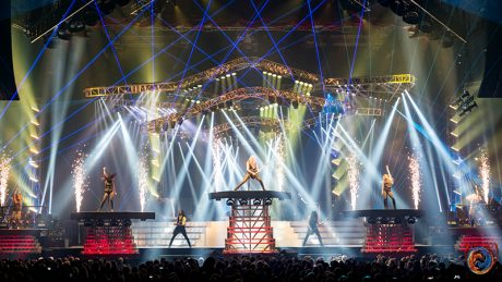 The twin tours once again traveled East and West for 2016 with over-the-top staging, lighting, video and effects. All photos courtesy Bryan Hartley and Jason McEachern