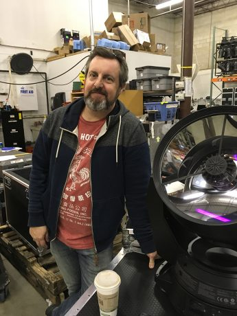Paul Guthrie and the VL-6000