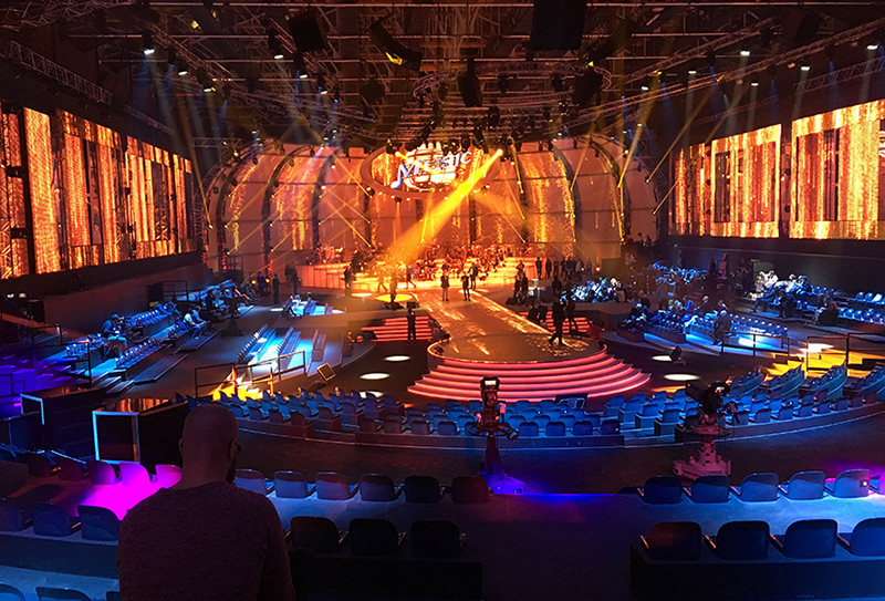d3 Performs Projection Mapping as 'Music!' Makes its Mark on Italian on