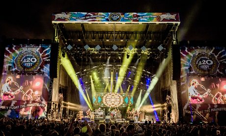 Widespread Panic at SweetWater 420 Festival. Photo courtesy Dave Vann