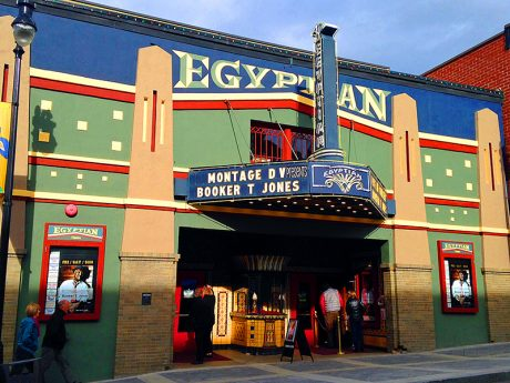The Egyptian Theatre in Park City, UT is the original venue for the Sundance Film Festival.